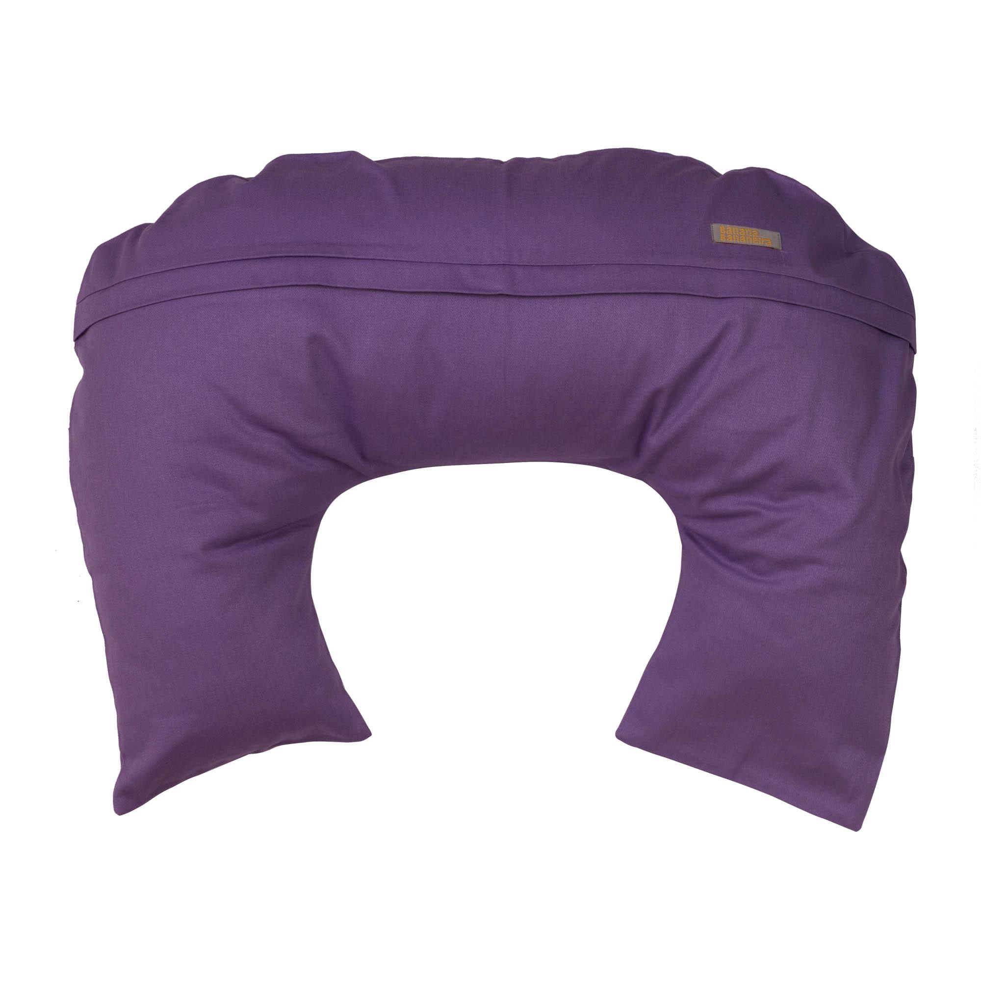 Almofada de amamentação lilás