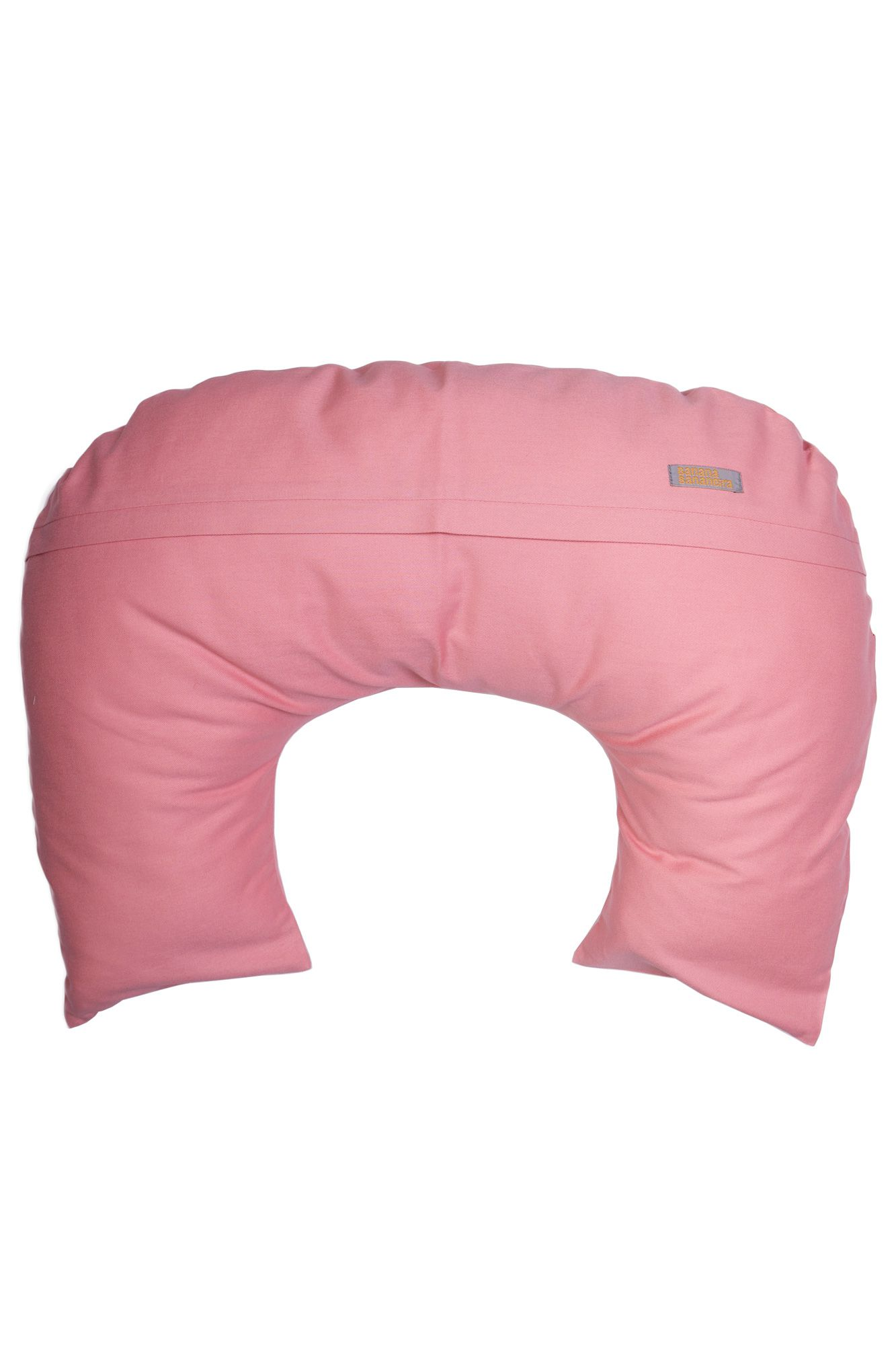 Almofada de amamentação rosa