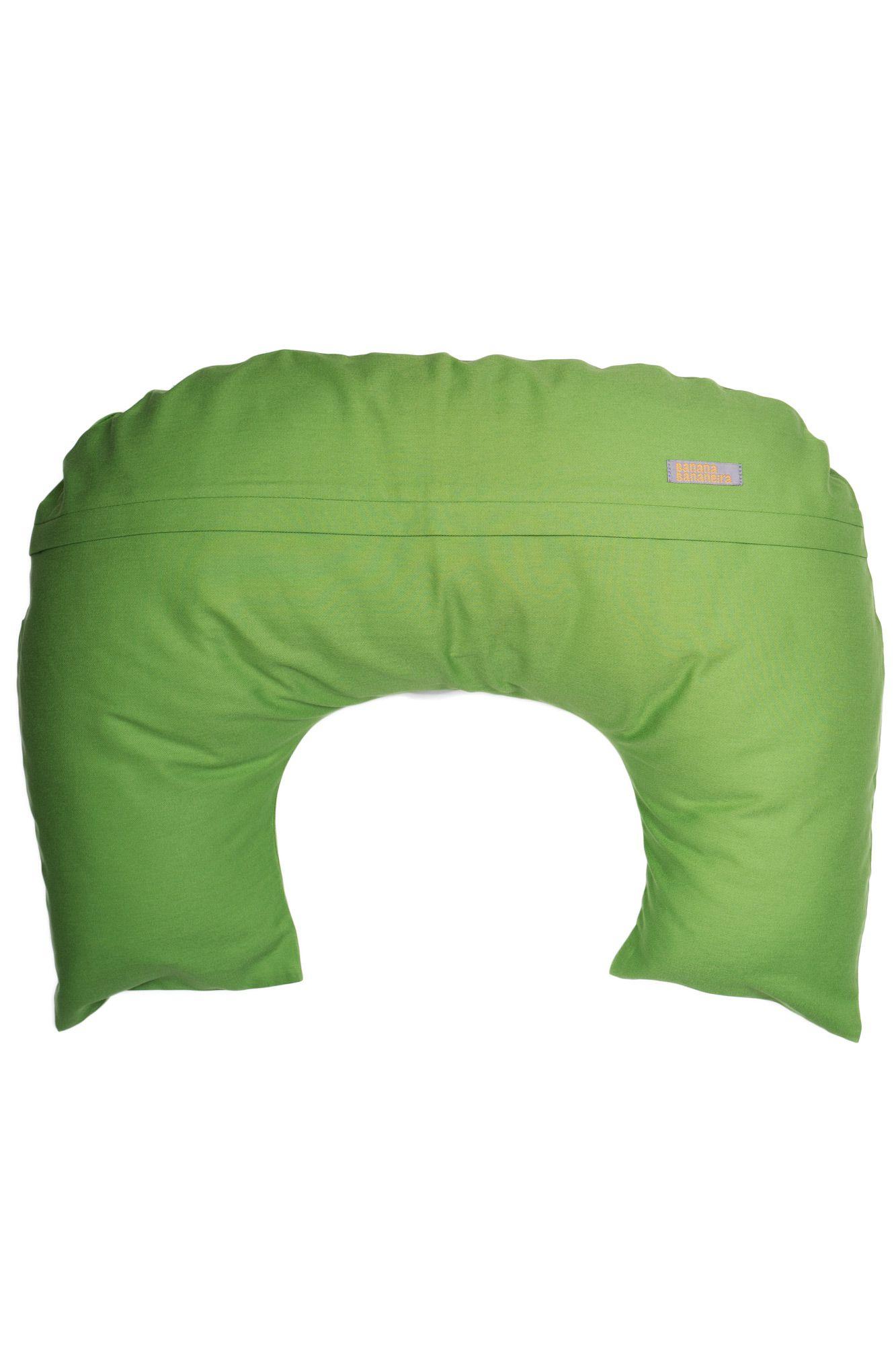 Almofada de amamentação verde