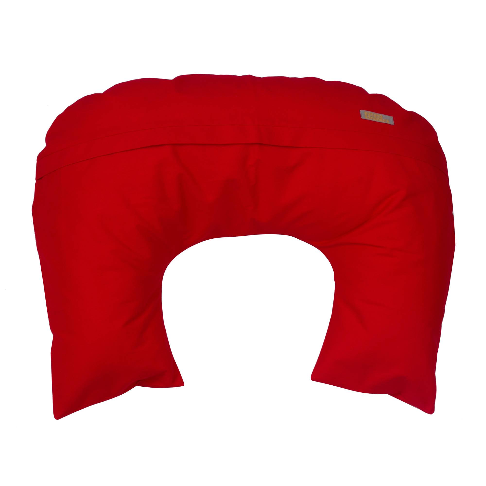 Almofada de amamentação vermelho