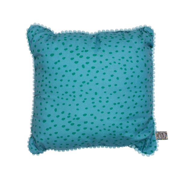 Almofada POP Flocos Azul