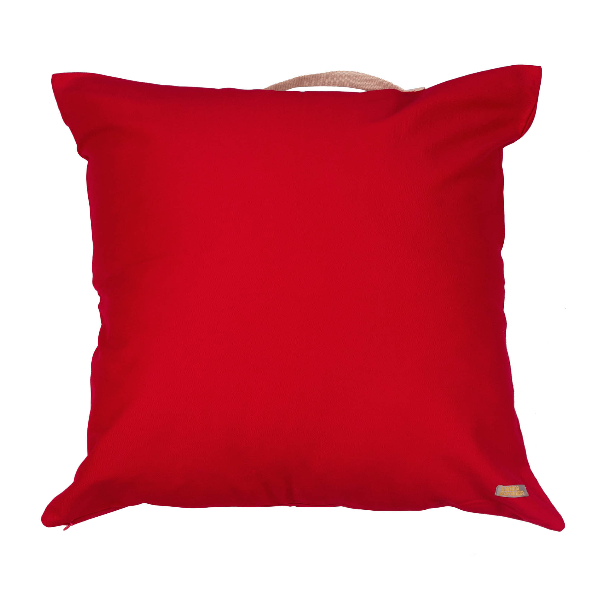 Almofadão vermelho