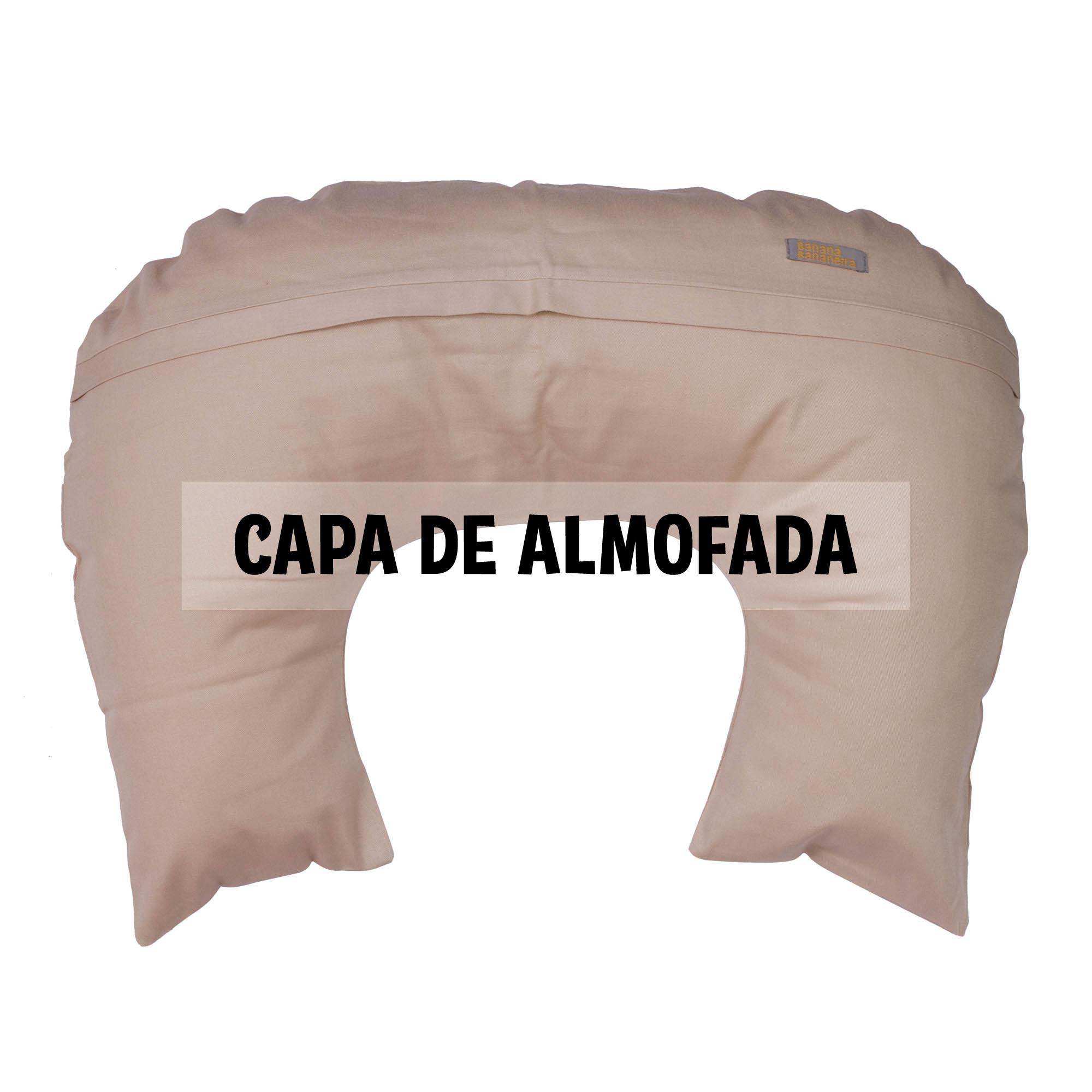 Capa de almofada de amamentação areia