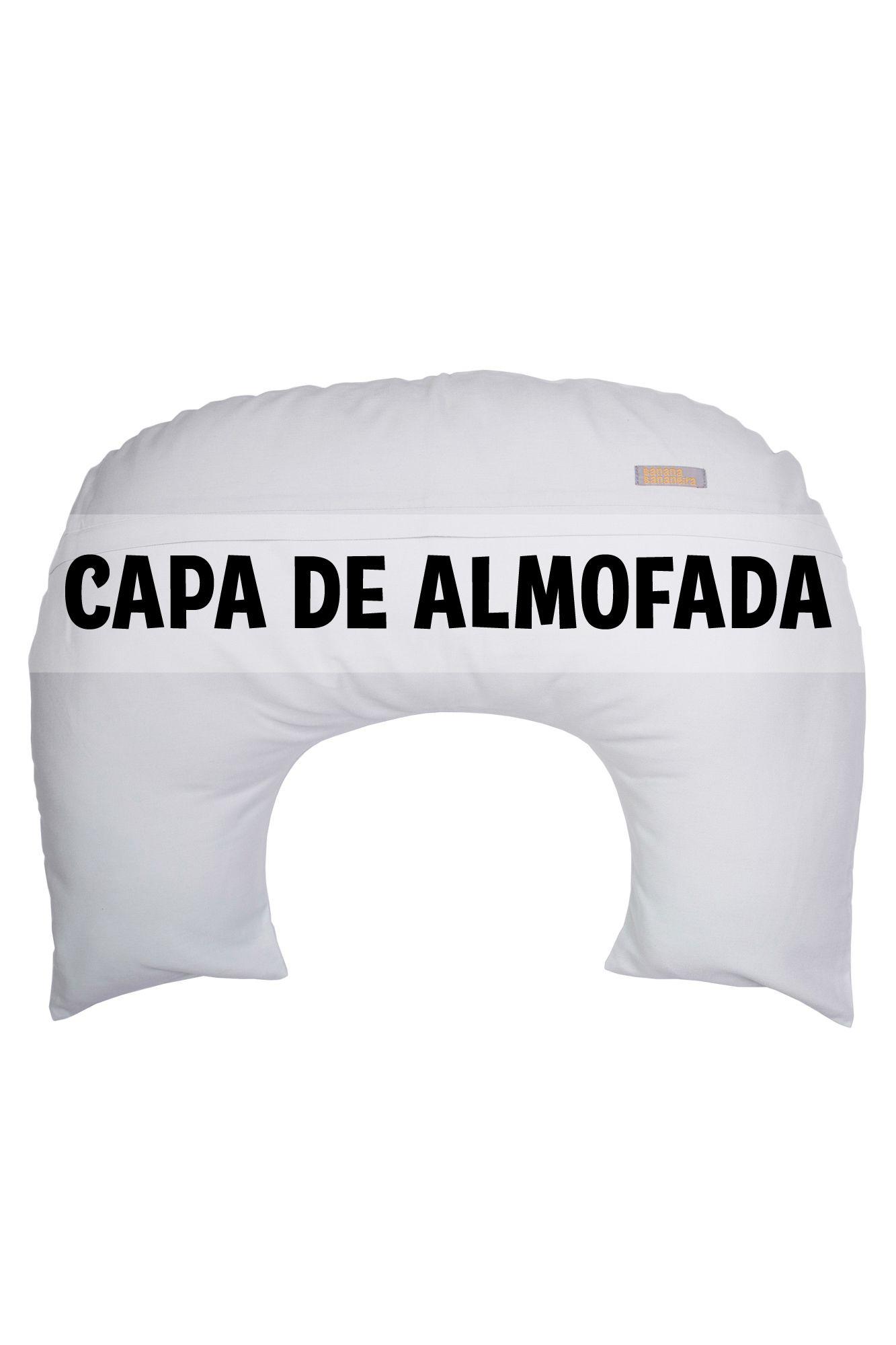 Capa de almofada de amamentação azul claro