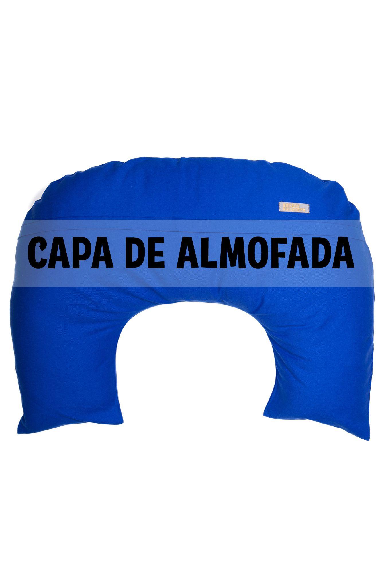 Capa de almofada de amamentação azul royal
