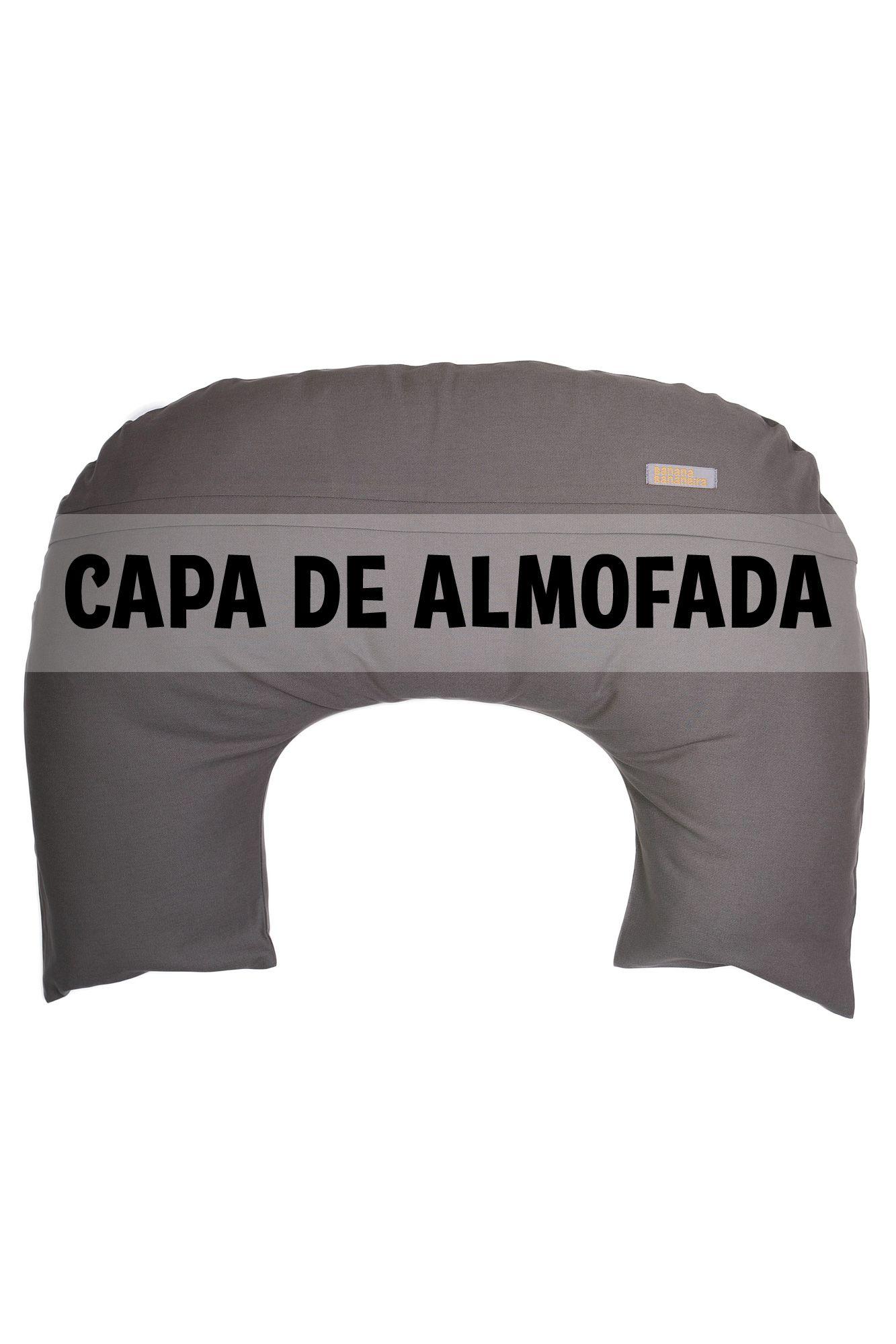Capa de almofada de amamentação cinza