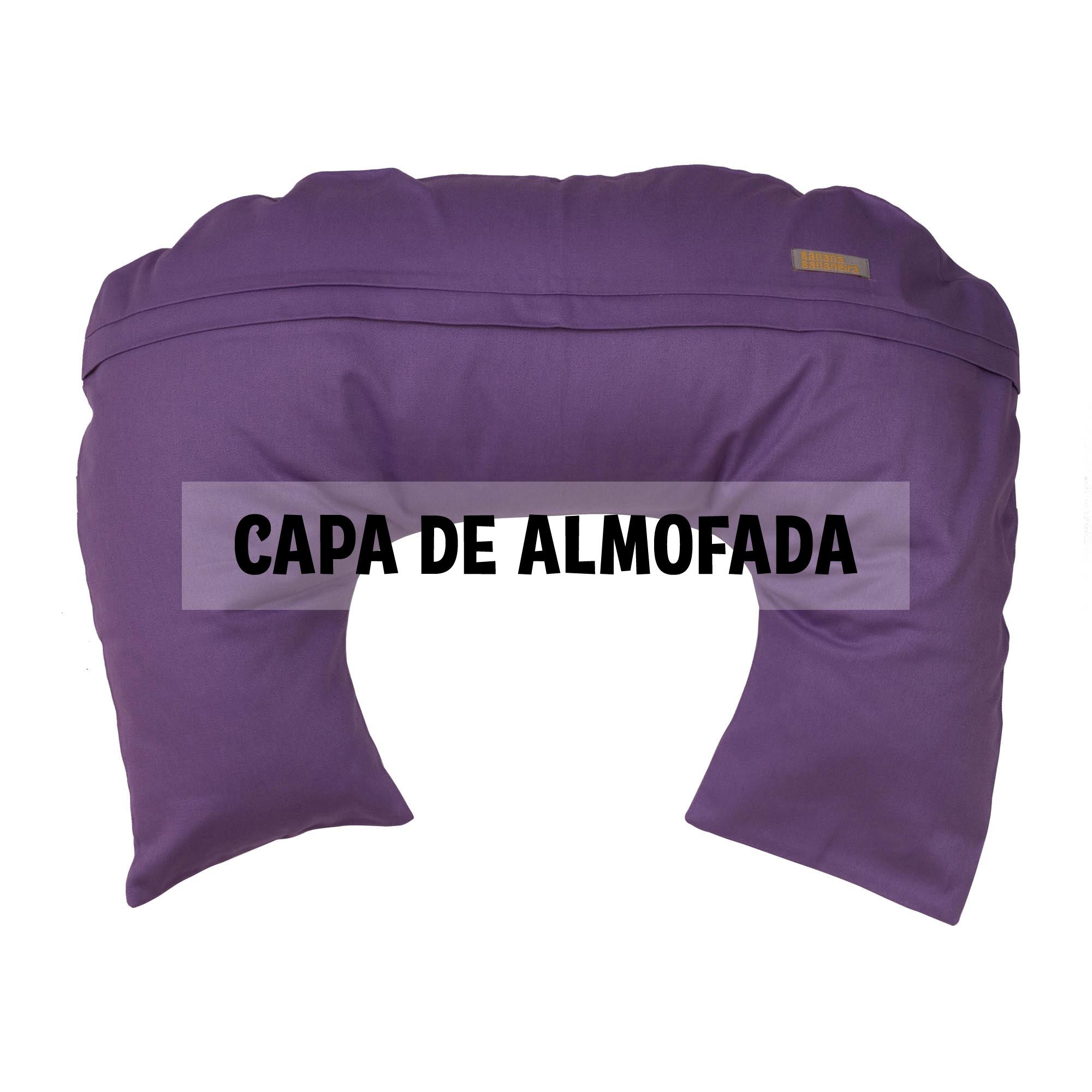 Capa de almofada de amamentação lilás