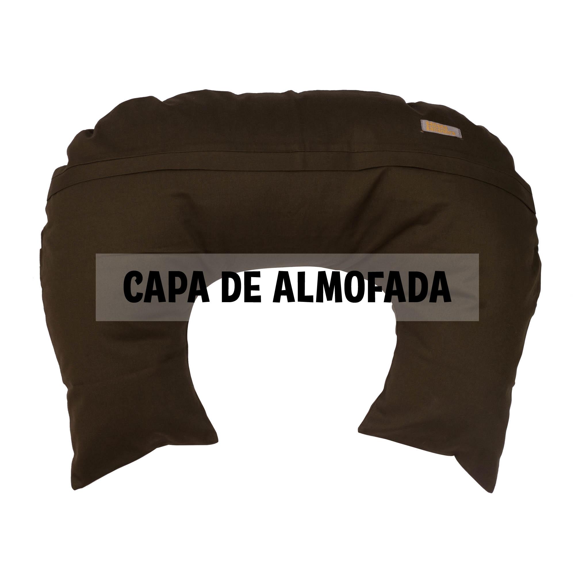 Capa de almofada de amamentação verde militar