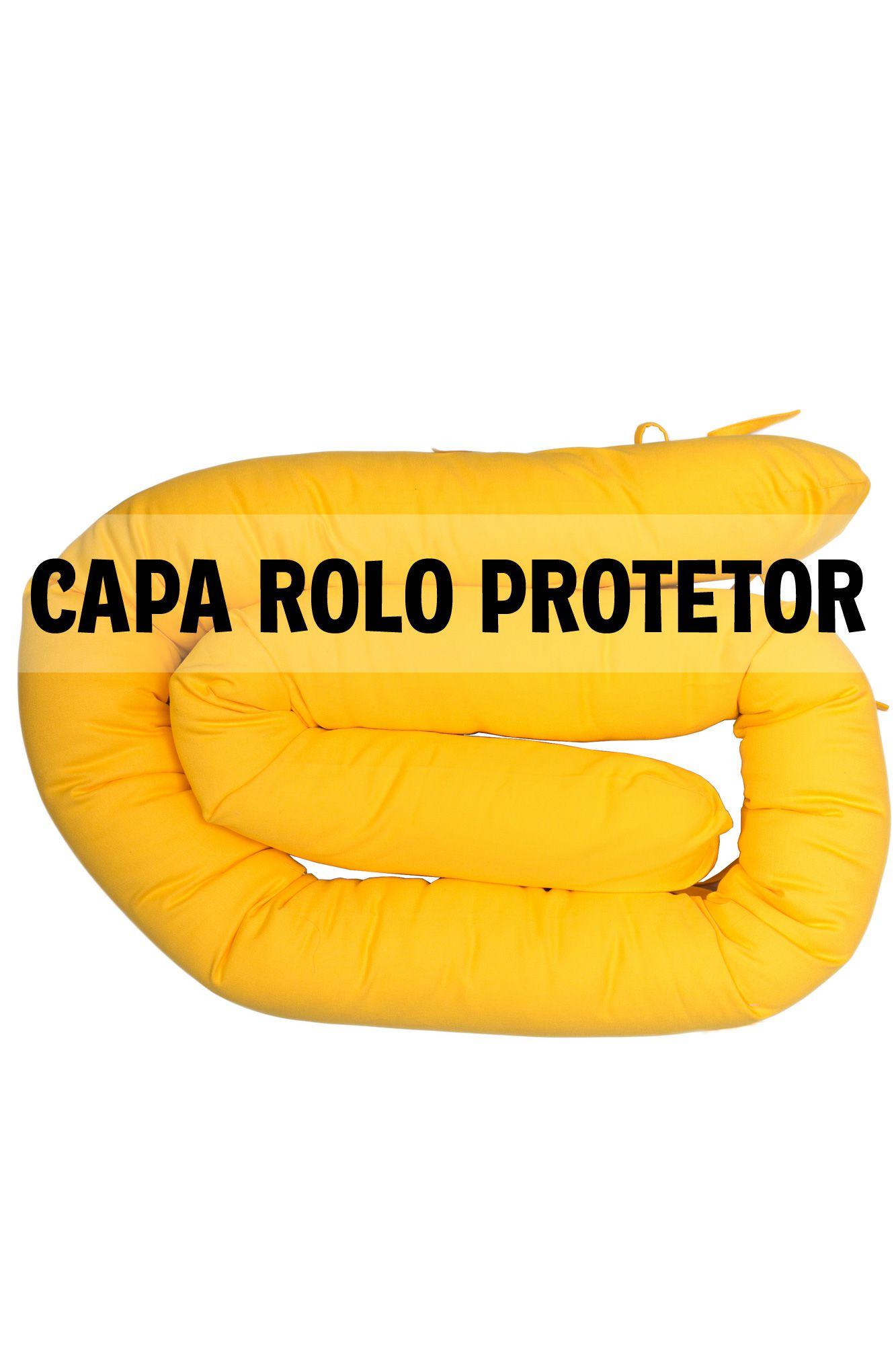 Capa de protetor espaguete amarela