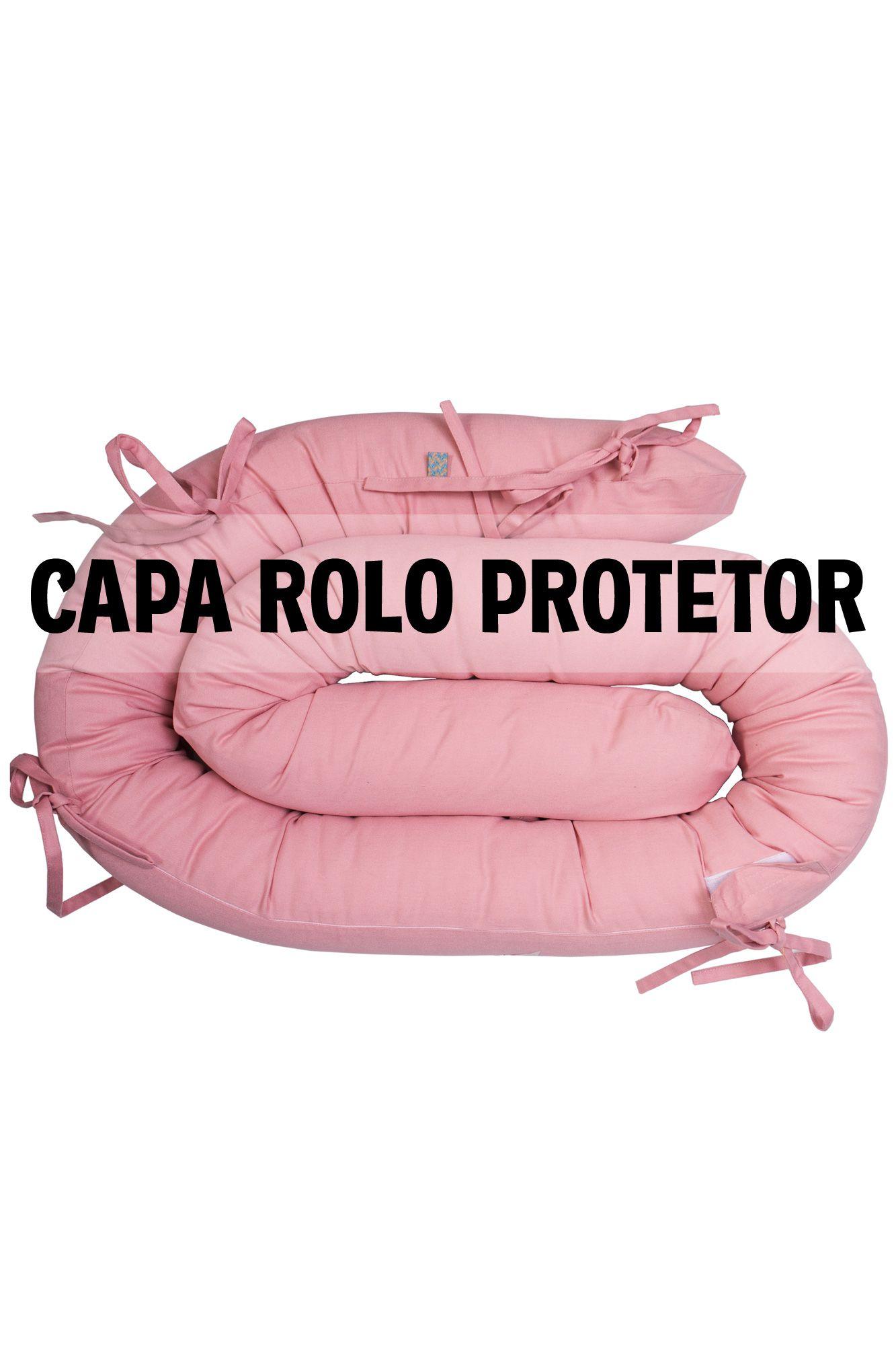Capa de protetor espaguete rosa