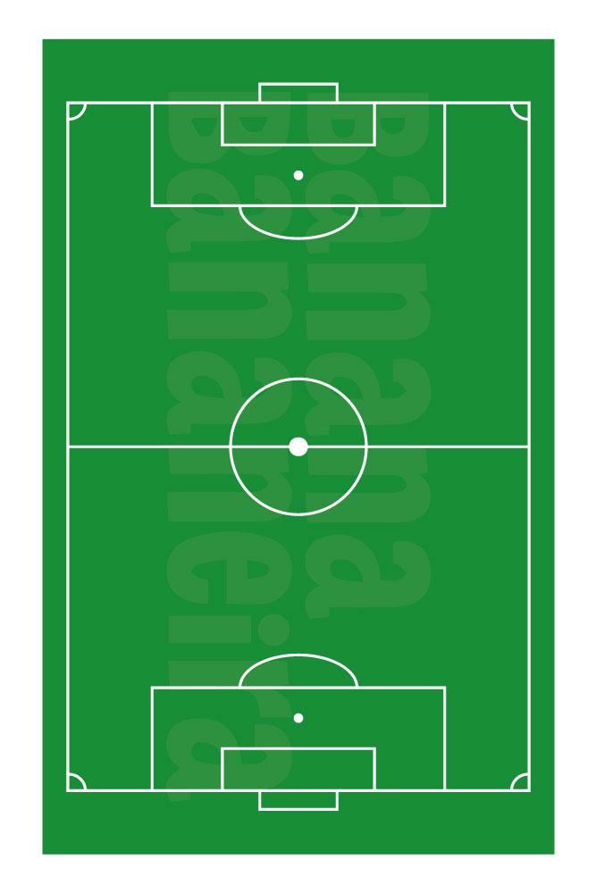 Coleção Esportes - Tapete playmat futebol de campo
