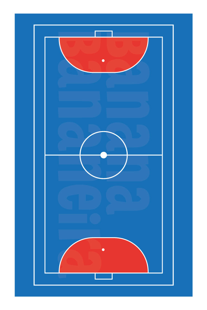 Coleção Esportes - Tapete playmat futebol de salão