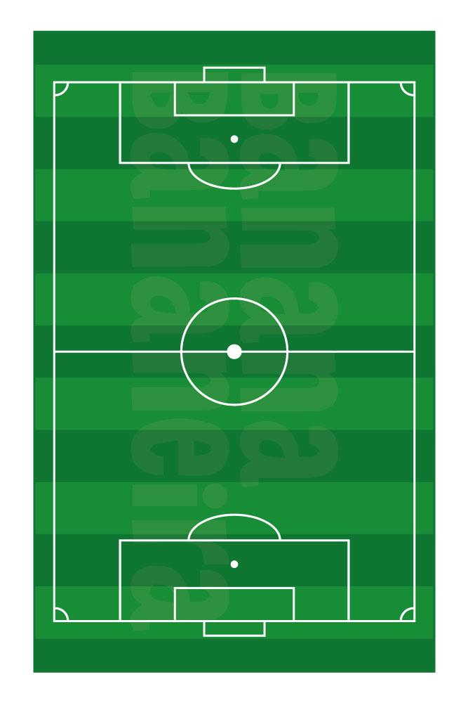 Coleção Esportes - Tapete playmat futebol society