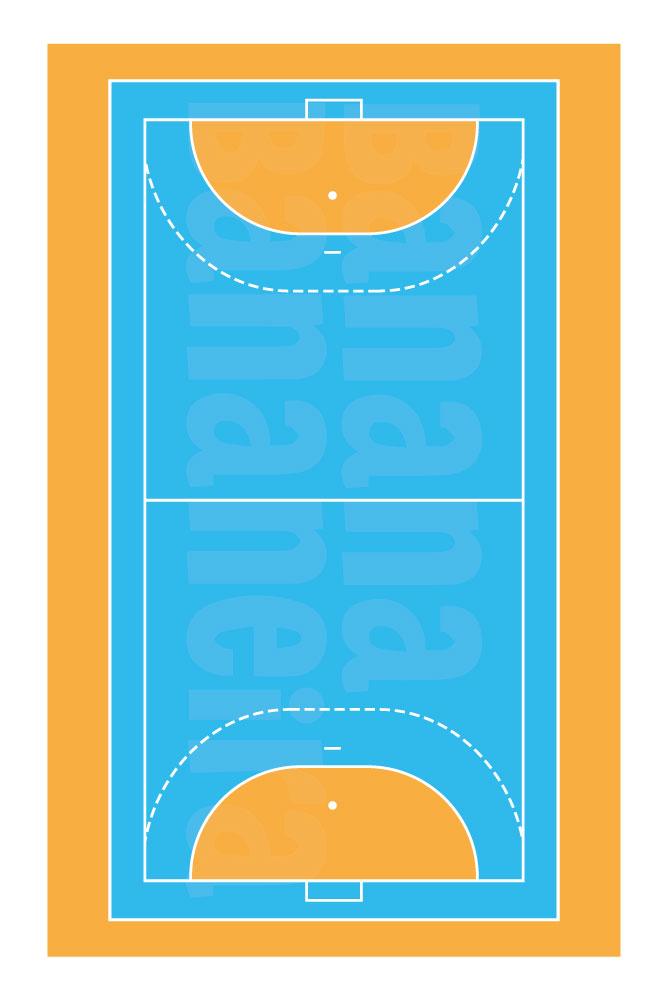 Coleção Esportes - Tapete playmat handebol