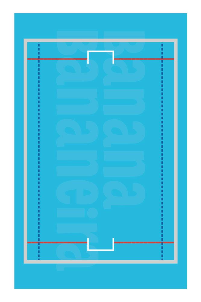 Coleção Esportes - Tapete playmat polo aquático