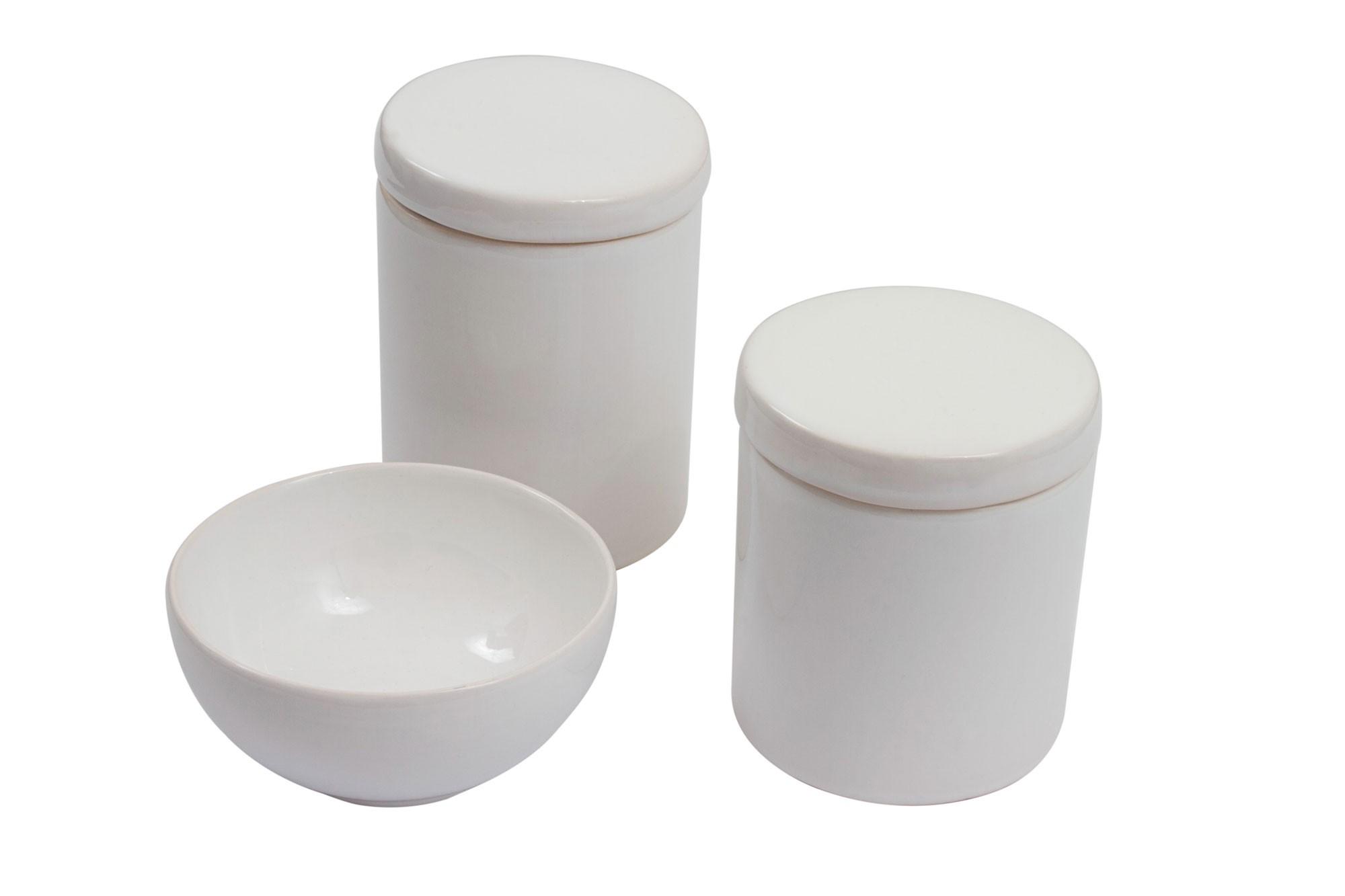 Kit higiene branco