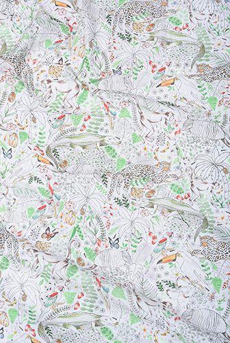 Lençol de cobrir berço Festa na Floresta