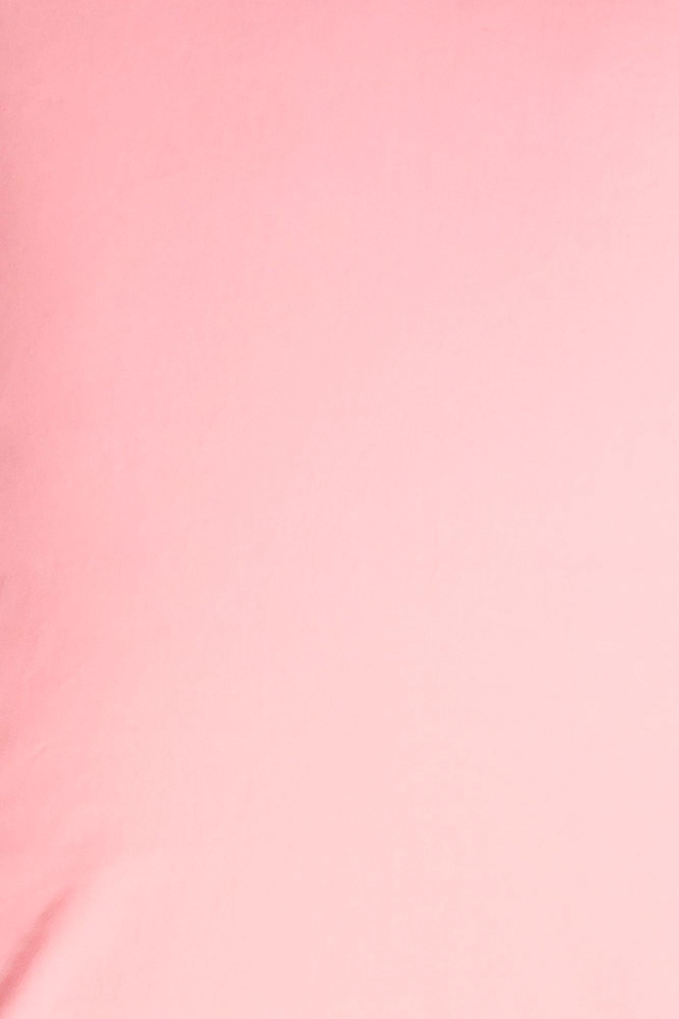 Lençol de elástico berço Rosa algodão doce (sarja)