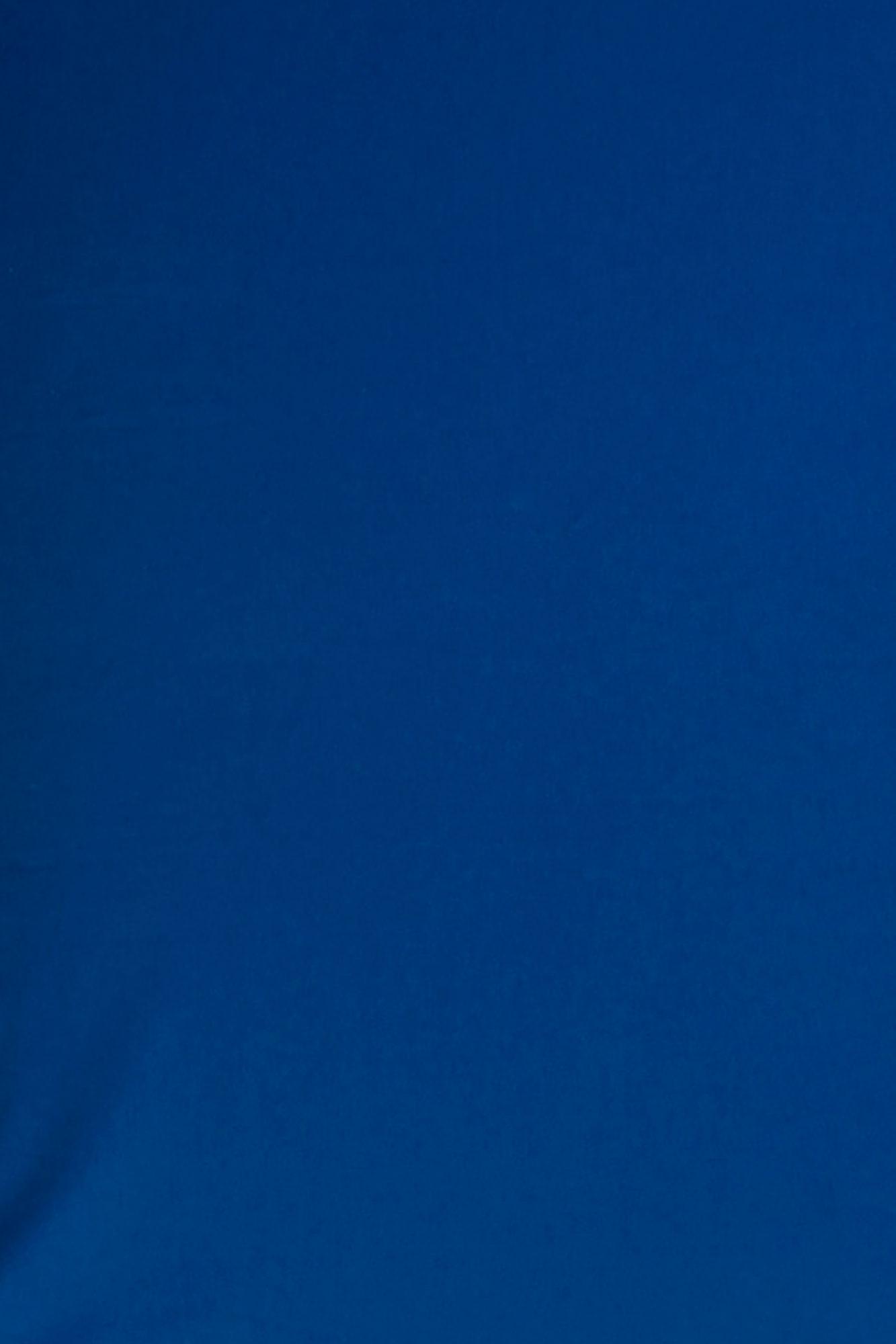 Lençol de elástico solteiro Azul clássico (sarja)