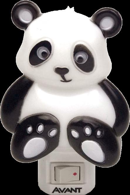 Luz Noturna de Led Panda 1w 3000k Bivolt