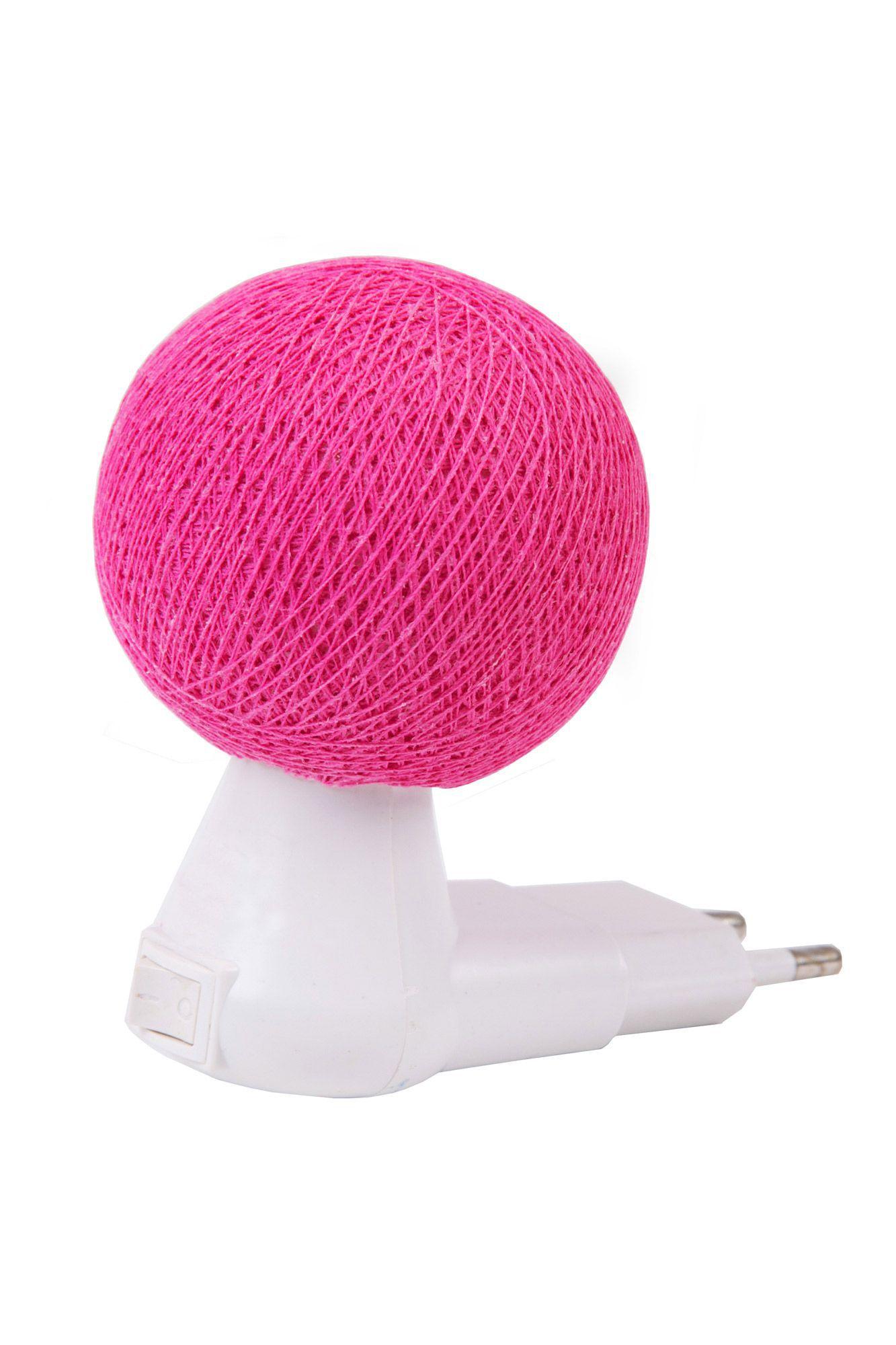 Luz noturna pink
