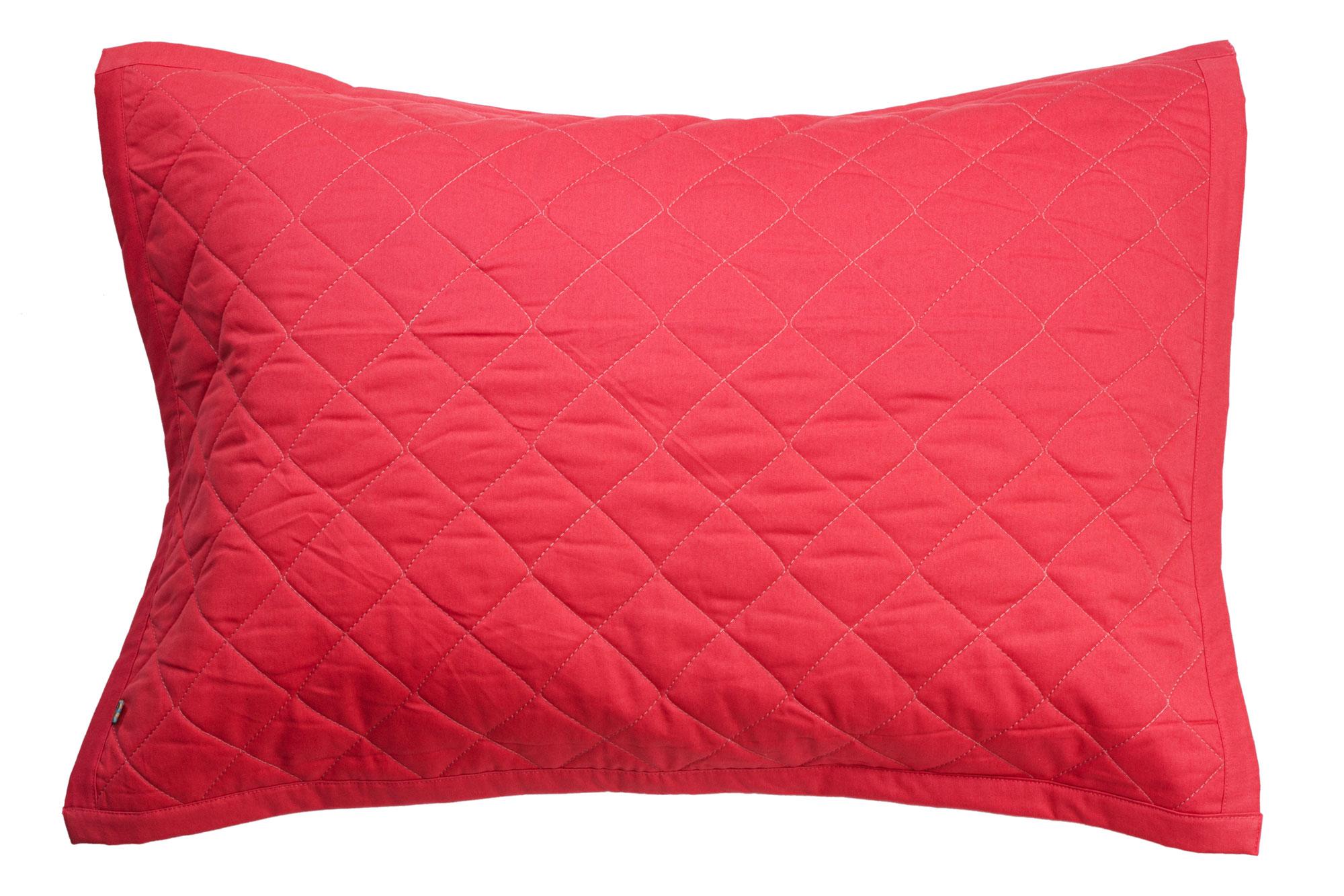 Porta travesseiro matelassê goiaba e rosa algodão doce