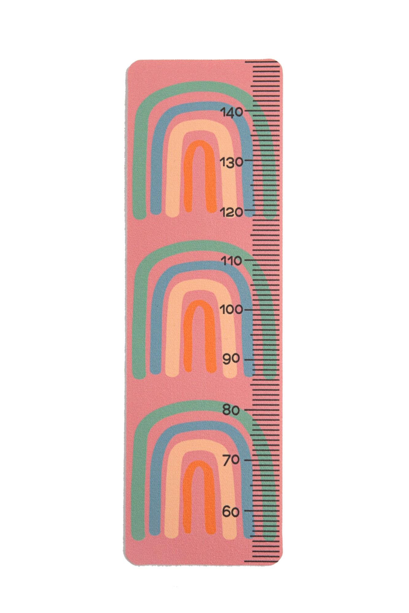 Régua de altura arcos candy