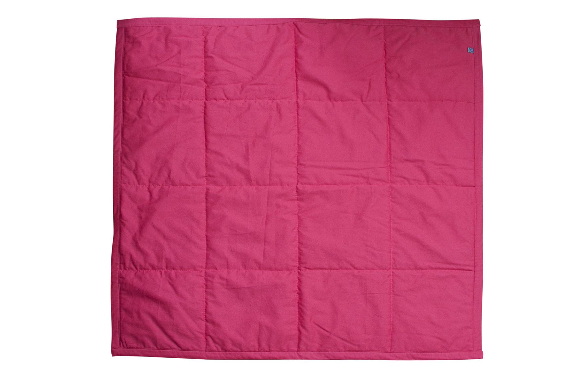 Tapete quadrado para brincar goiaba e rosa algodão doce