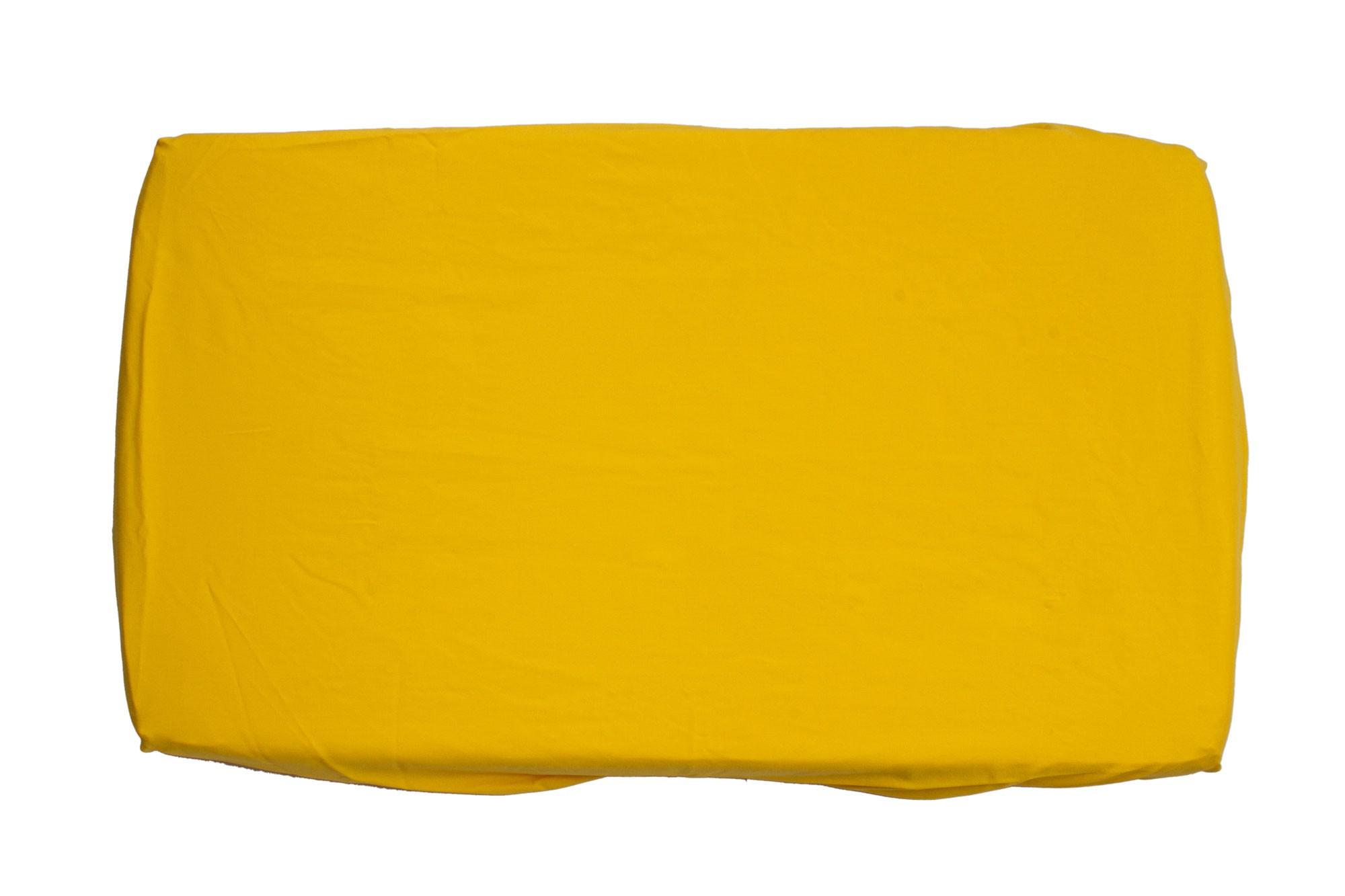 Trocador com elástico amarelo