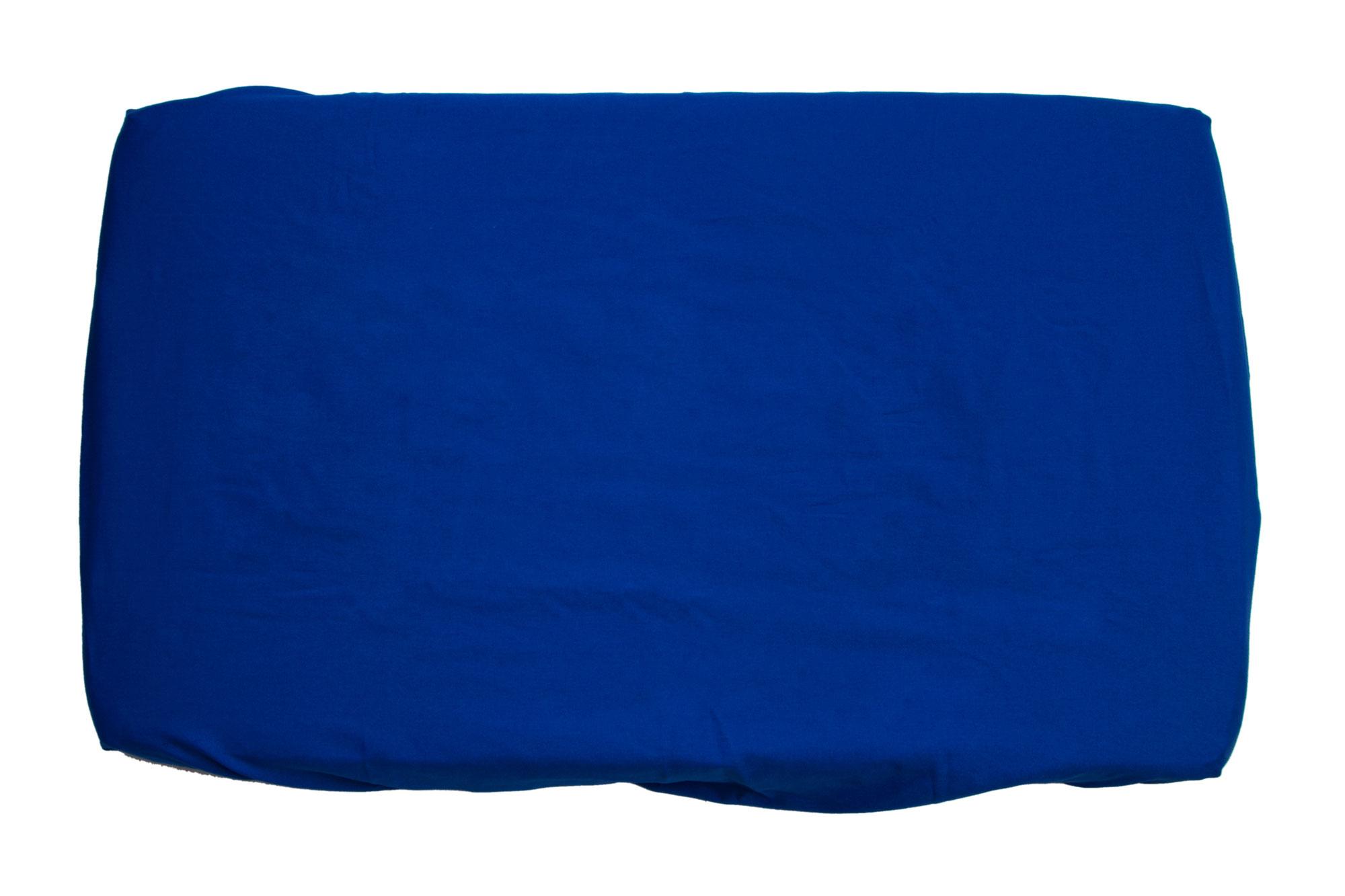 Trocador com elástico azul royal