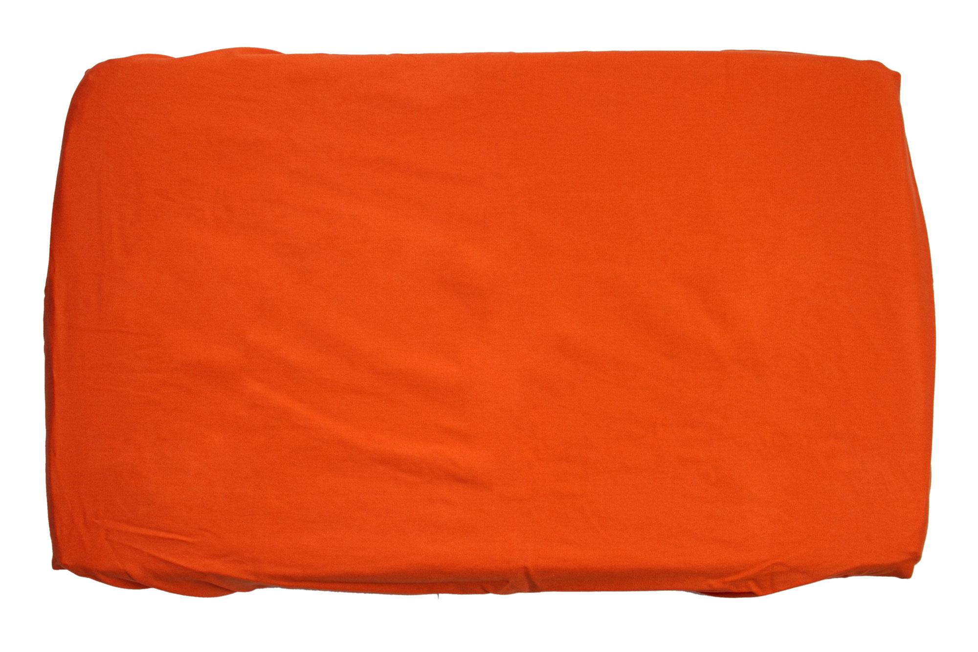 Trocador com elástico laranja