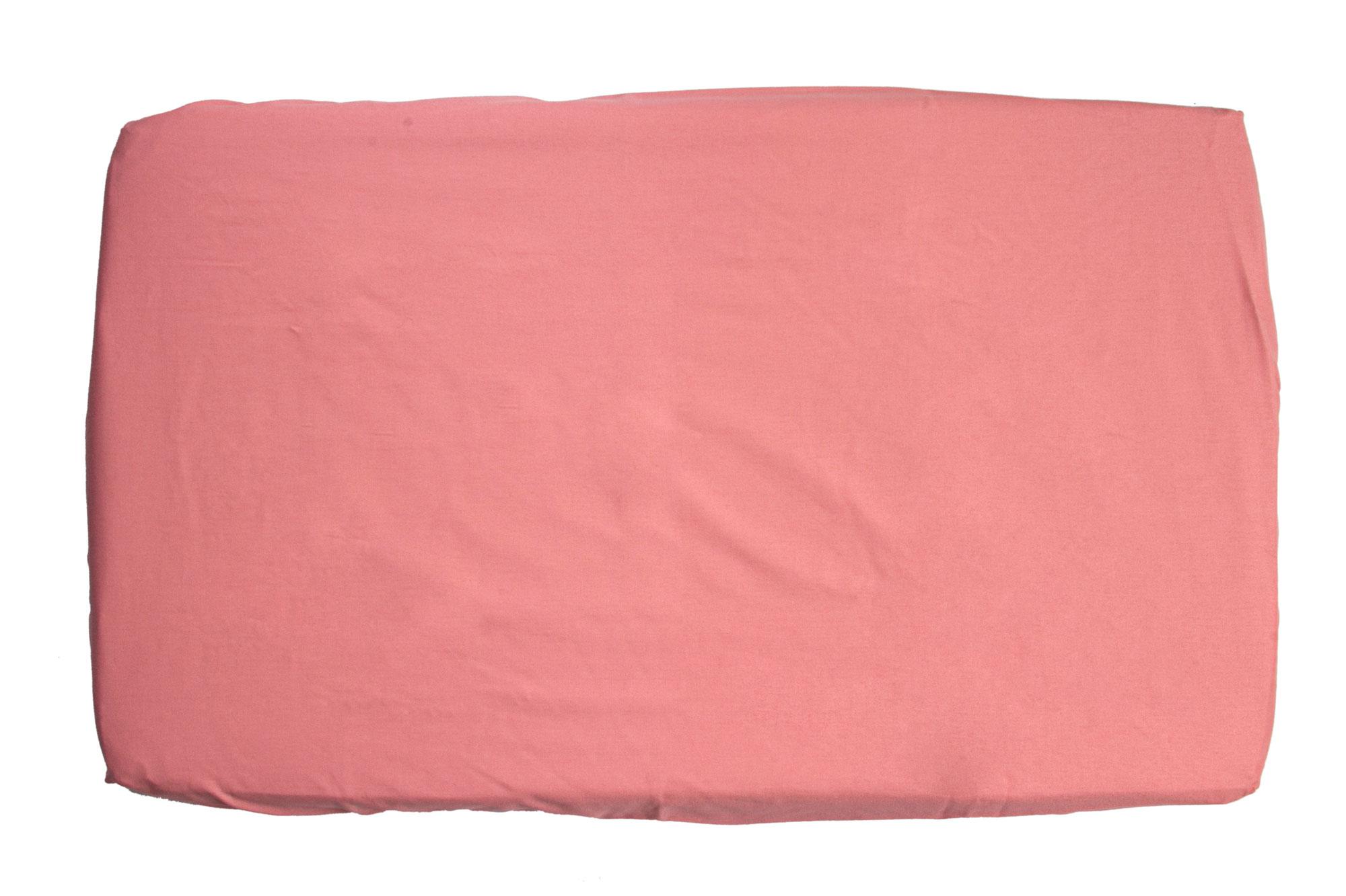 Trocador com elástico rosa