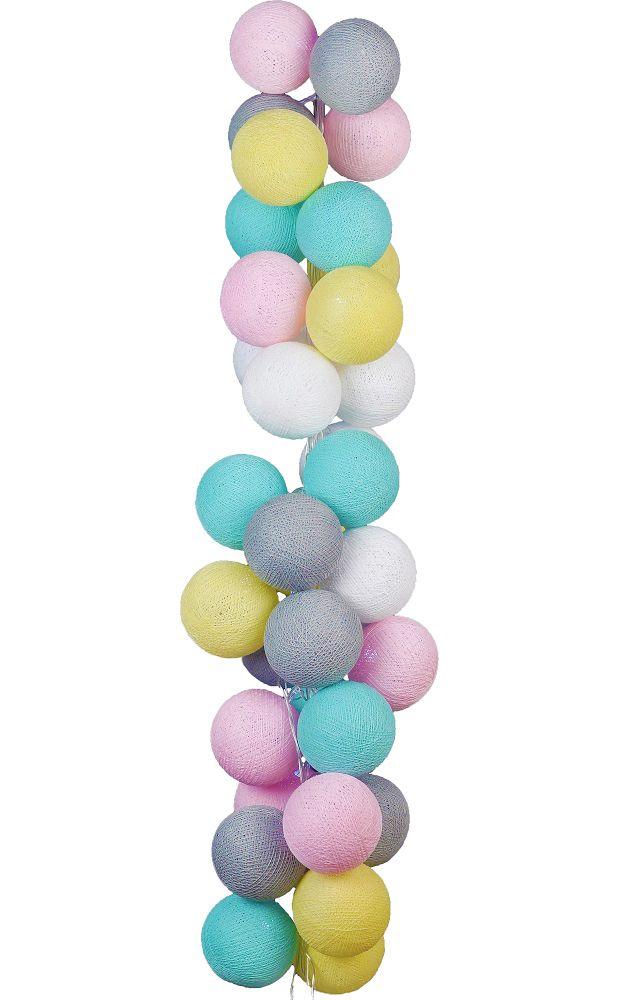 Varal de luz candy colors