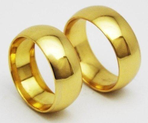 Alianças Medida do Amor - Par