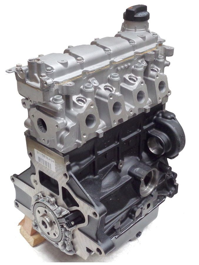 Motor 1.6 Original Volkswagen Fox Gol Golf Polo 032100034a