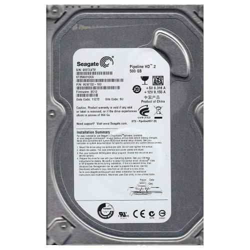 HD Seagate 500GB 5900RPM SATA II