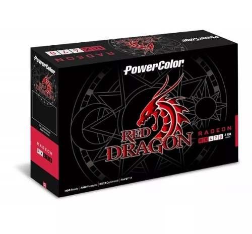 Placa de Vídeo PowerColor RX 470 Red Dragon 4gb