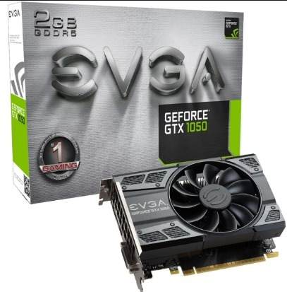 Placa de Vídeo EVGA GTX 1050 2gb