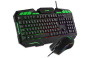 Kit Teclado e Mouse Gamer Xzone LED Multimídia GTC-01
