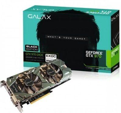 Placa de Vídeo GALAX GTX 970 EXOC 4GB
