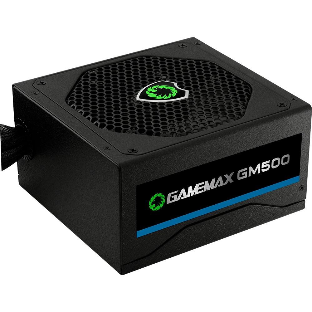 FONTE GAMEMAX GM500 500W 80 PLUS BRONZE PFC ATIVO