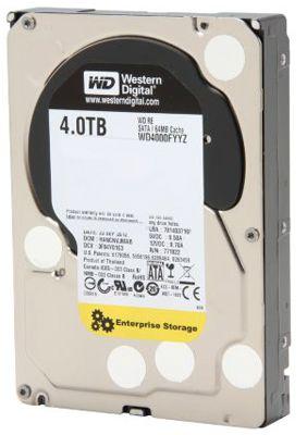 HD 4TB Western Digital RE Enterprise 7200rpm SATA 6Gb/s 64MB