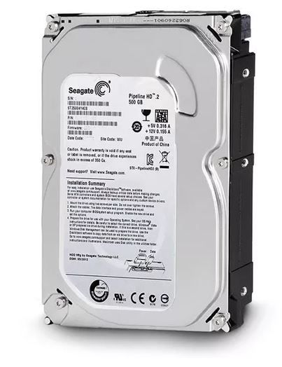 HD Seagate Pipeline 500gb Sata 2 5900rpm