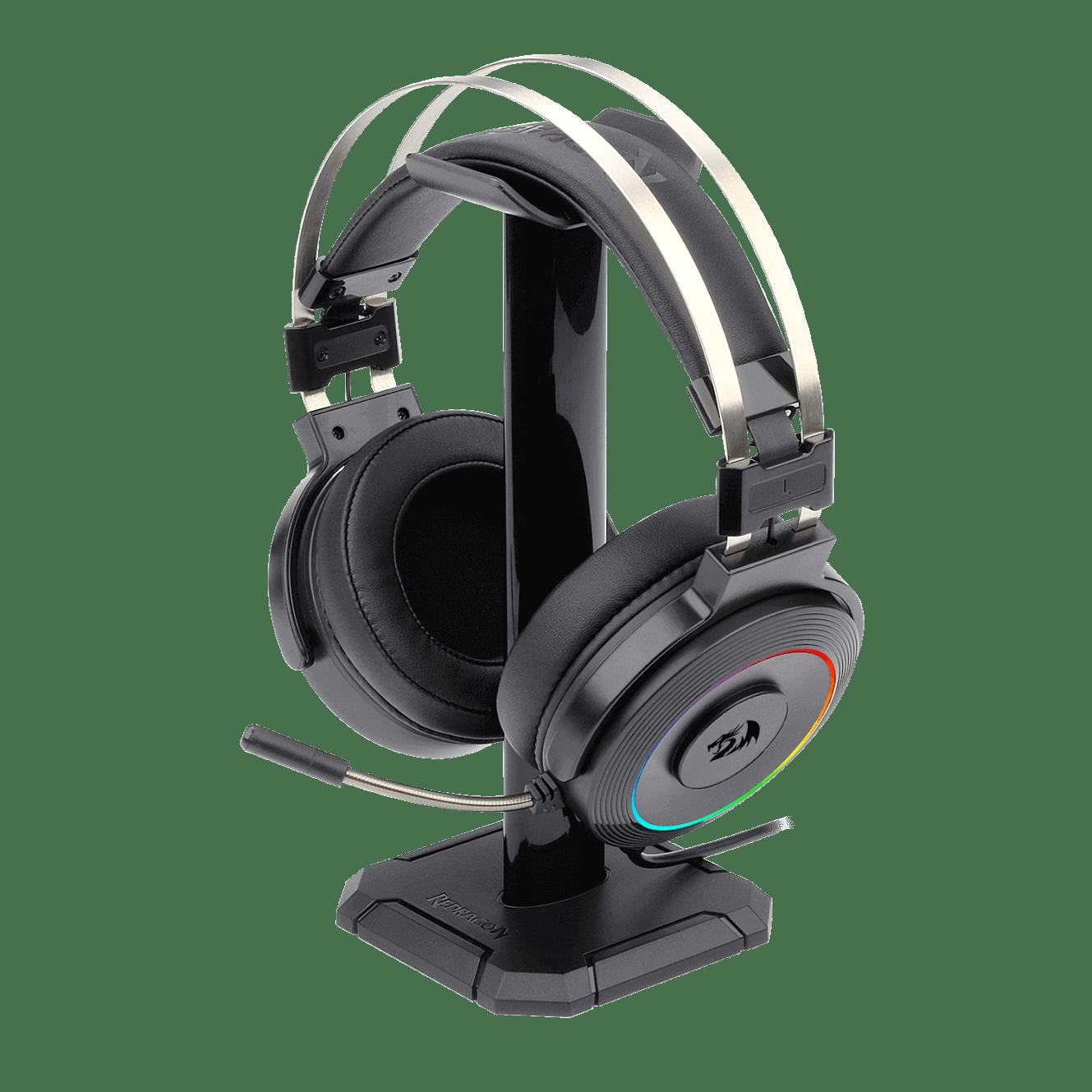 HEADSET GAMER REDRAGON LAMIA RGB USB AUDIO 7.1 + SUPORTE H320RGB