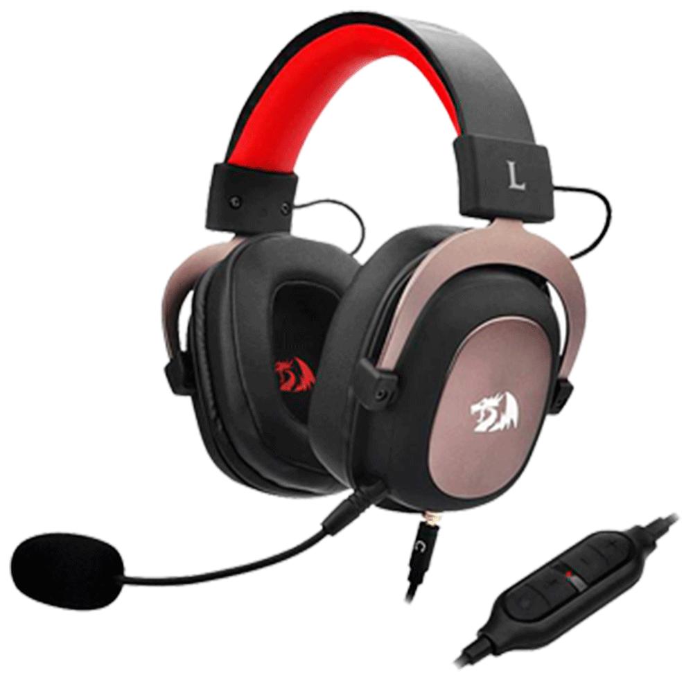 Headset Gamer Redragon Zeus 7.1 Som Surround H510-1