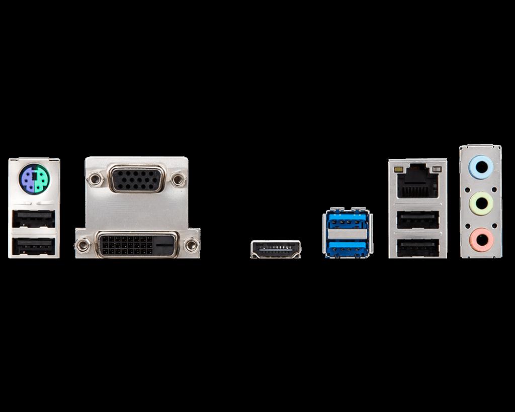 KIT UPGRADE INTEL I3 9100F / PLACA MÃE MSI H310M PRO VDH-PLUS / MEMORIA HYPERX 2x8GB