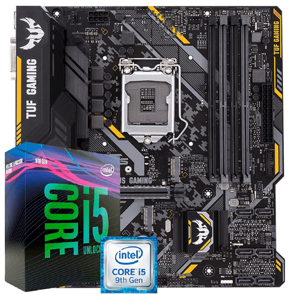 KIT UPGRADE INTEL I5 9400F / PLACA MAE ASUS TUF B360M-PLUS GAMING/BR