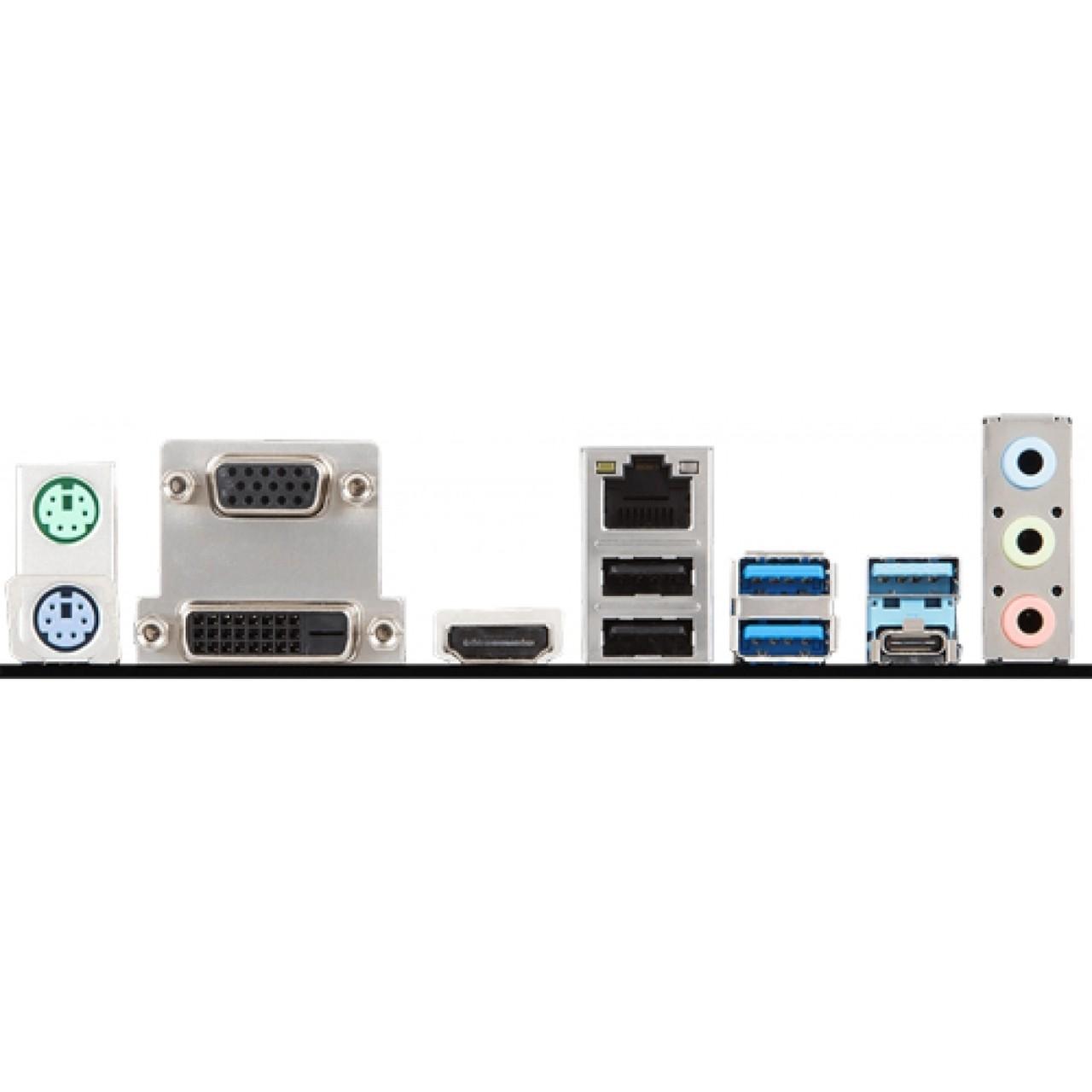 KIT UPGRADE PROCESSADOR INTEL I5 9600K / PLACA MÃE MSI B360M PRO VDH