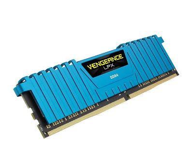 MEMORIA CORSAIR VENGEANCE LPX AZUL 16GB (2X8) 3000MHZ DDR4, CMK16GX4M2B3000C15B