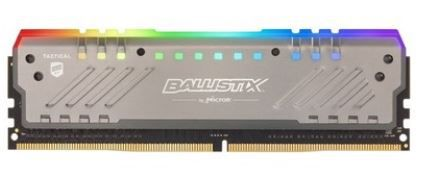 Memória Crucial Ballistix Tactical Tracer RGB 8GB 3000MHz DDR4 CL16 - BLT8G4D30BET4K